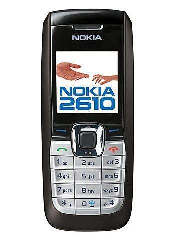 Nokia 2610 - Móvil libre (pantalla de 1,94')