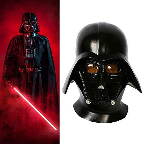 Darth Vader Skywalker Casco de cara completa, máscara The Rise of Skywalker Cosplay Halloween para motocicleta equipo protector