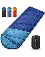 Bessport Slaapzak 3 Seizoen Waterdichte en Lichtgewicht Camping Slaapzak voor Indoor & Outdoor Camping Backpacken Wandelen