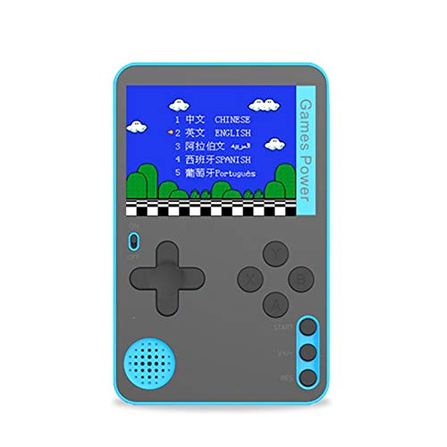 Leeofty Spielekonsole Retro Mini Game Player mit 500 klassischen Spielen Portable Pocket Game Machine...