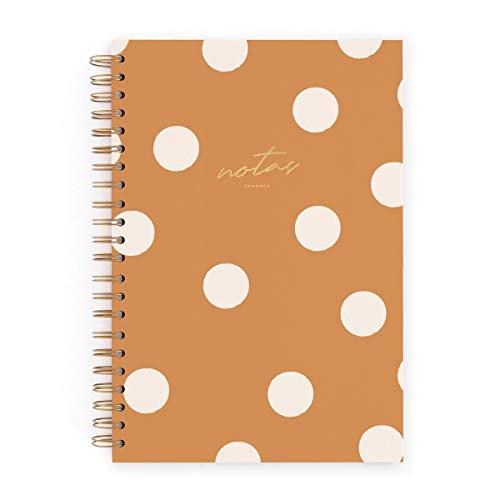 Cuaderno grande Charuca. Canela