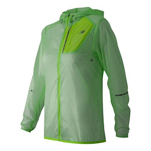 New Balance Women's Lite Packable Jacket, Seafoam, Medium