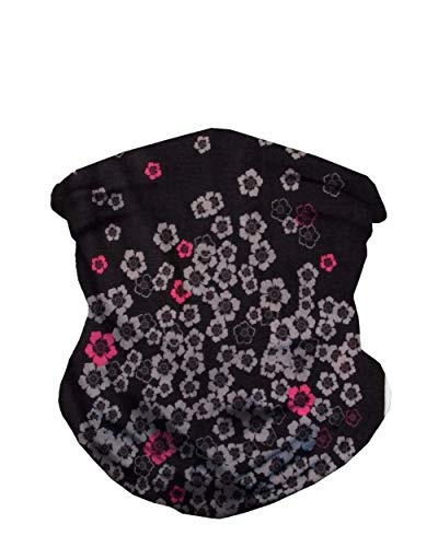 iHeartRaves Falling Florals Neck Gaiter Face Scarf Mask Bandana Gator