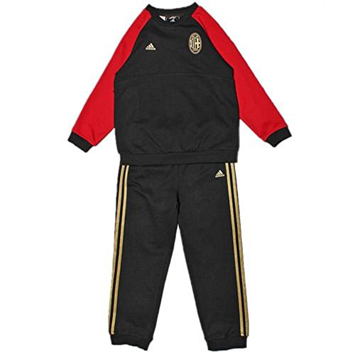 Adidas Performance ACM Milan Kid Trainingspak/Jogging, zwart