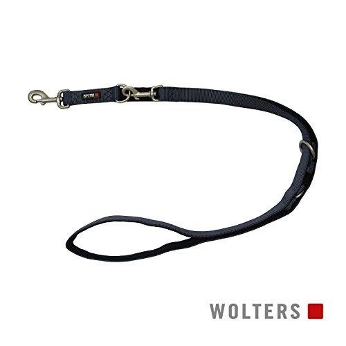 Wolters | Führleine Professional Comfort graphit/schwarz | L 200 x B 1 cm