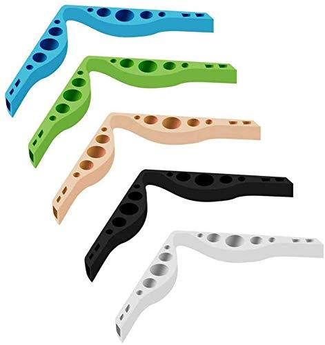 5 Pcs Puente de Nariz, Soporte Antivaho, Almohadillas Nasales, soporte nasal de silicona para mascarillas, tiras para mascarillas