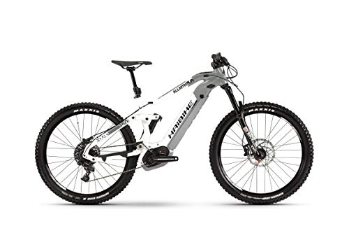 HAIBIKE Xduro AllMtn 3.0 27.5\'\' Pedelec E-Bike MTB grau/weiß 2019: Größe: S