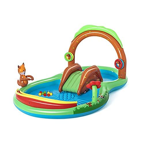 LGLE Piscina inflable para niños, piscina inflable de verano, gran jardín, piscina inflable para jardín, salón, piscina inflable para patio trasero, jardín al aire libre, 295 x 199 x 130 cm,