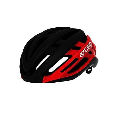 Giro Agilis MIPS Mens Road Cycling Helmet - Large (59-63 cm), Matte Black/Bright Red (2021)