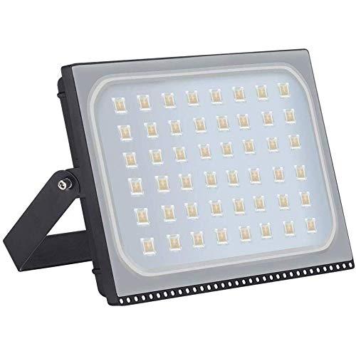 JJSFJH Luz de inundación del LED, 150W, 5700K (blanco frío), IP65 resistente al agua, al aire libre Luces de la seguridad del paisaje del jardín de la lámpara Spot 220v Reflector super brillante