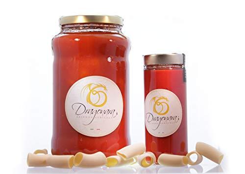 DRAGONARA – Datterini in biologische Datterino-saus – pot van 3 kg – verpakking van 4 x 3 kg