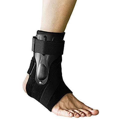 Tuneway M(39-42) Tobilleras de Tama?O Correas de Vendaje Soportes de Protectores de Tobillo Ajustables de Seguridad Deportiva Protector del Pie Estabilizador Vendaje ProteccióN