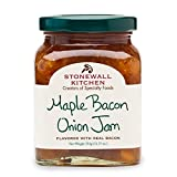 Stonewall Kitchen Maple Bacon Onion Jam, 11.75 oz A delicious sweet and savory combination of flavors Great as a savory pizza base, to mix into mashed potatoes or to top a juicy burger Wonderful for creating a pan sauce or paired with cheeses Made in...