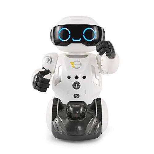 WJHH Intelligenter Kehrroboter Tragbarer Konversationsfernreiniger für Wohnzimmer Schlafzimmer