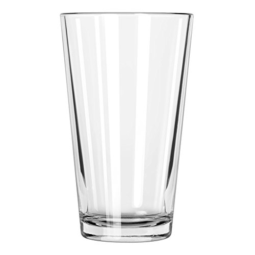 Libbey Pint Glass with DuraTuff Rim (1639HT), 16oz - Set of 12
