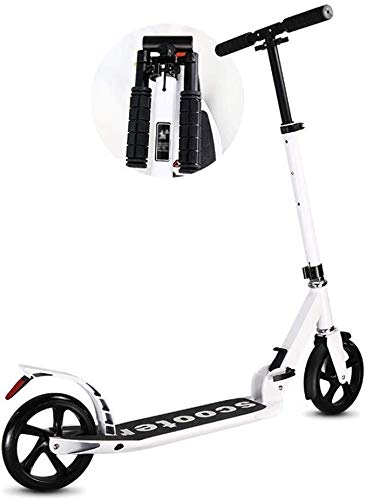 Buy Bargain LAOHAO Male and Female Scooter Folding Adult Travel Height Adjustable 200mm Wheel Suitab...