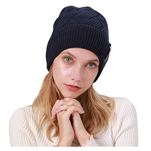 Yue668 Chapeau Unisexe D'automne Et D'hiver, Chapeau Bouclé En Cachemire, Chapeau épais En Velours, Chapeau En Laine Monochrome à Rayures