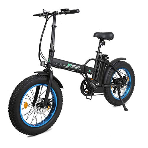 "ECOTRIC 20"" New Fat Tire Electric Bike"