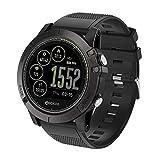 VECDY SmartWatch, Zeblaze Vibe 3 HR Reloj Inteligente Teléfono Deportes Hombres SmartWatch para iOS/Android, Regalos(Negro)