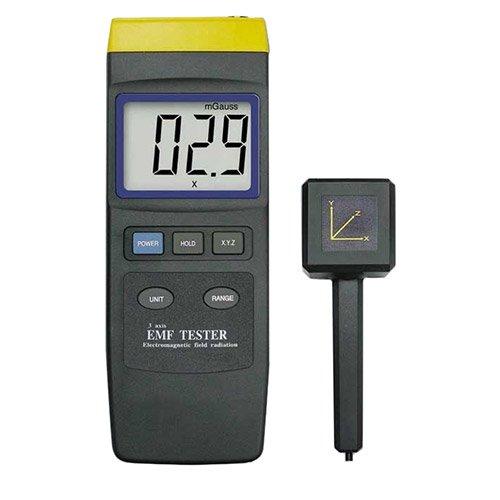 PCE Instruments Gaussmeter PCE-G28 (Feldstärkemessgerät), Magnetfeldtester, Strahlungsmesser, Elektrosmog