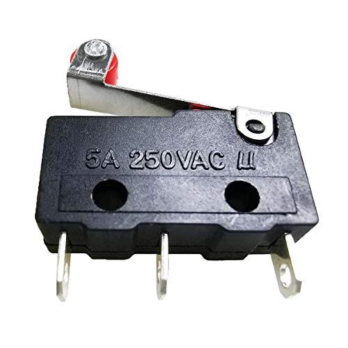 20 PCS LOT Limitar Micro Interruptor 3 Pin N/O N/C 5A 250VAC Tact Switch on Off