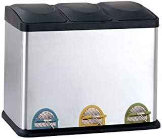 Best recycling bins 3 compartment Reviews