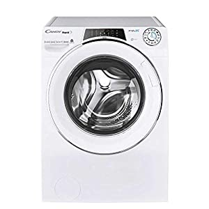 Candy ROW141066DWHC Freestanding Rapido Washer Dryer, WiFi Connected, 10kg Wash/6kg Dry Load, 1400rpm Spin, White