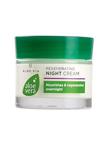 Reichhaltigel, zart duftende Gesichtscreme für die Nacht: LR Aloe Vera Regenerierende Nachtcreme