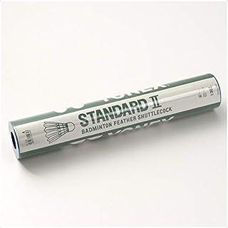 ヨネックス(YONEX) バドミントン シャトルコック スタンダード2 水鳥シャトル 12個入り 温度表示番号4(適正温度17~23℃) F10