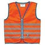 Wowow 011281 Chaleco de seguridad de alta visibilidad para niños, amarillo fluorescente, S