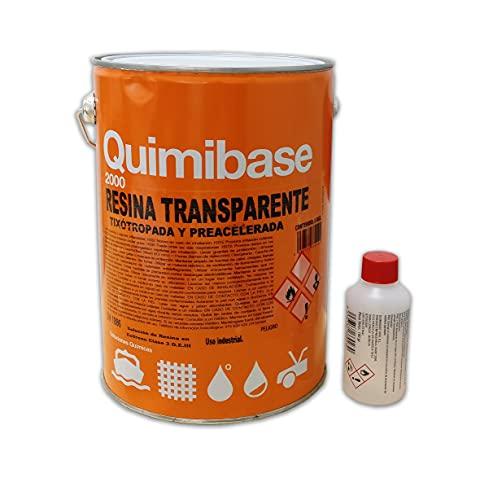 QUIMIBASE - RESINA POLIESTER CRISTAL+ catalizador 5KG