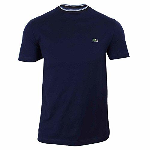 Lacoste Th6988 T-Shirt, Blu (Marine), X-Small (Taglia Produttore: 2) Uomo