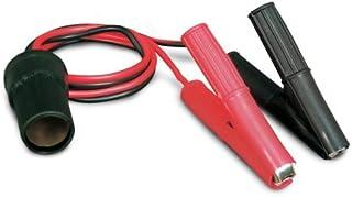 12V Battery Clip-on and Cigarette Lighter Adapter, Motorcycle ATV Golfcart