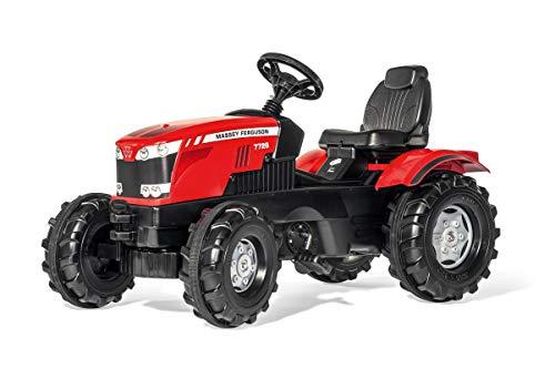 Rolly Toys Traktor / rollyFarmtrac MF 7726 Trettraktor (für Kinder im Alter von 3 – 8 Jahre, verstellbarer Sitz) 601158