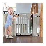 XJJUN-Barrera de seguridad Puerta De Aislamiento Cerca del Bebé El Aumento De Puerta De Mascotas Ensanchamiento Vallas Abdominales Interior, El Tamaño Puede Ser Personalizado