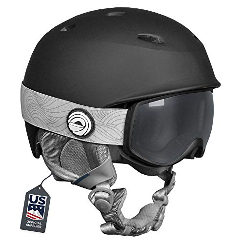 Wildhorn Spire Snow & Ski Helmet w/Goggles for Kids and Youth - ASTM Certified - US Ski Team Official Supplier