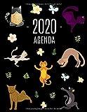 Gatos de Yoga Agenda 2020: Planificador Semanal | 52 Semanas Enero a Diciembre 2020