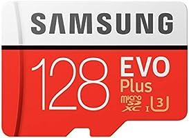 Samsung EVO Plus Micro SD卡 128GB microSDXC UHS-I U3 100MB/s Full HD & 4K UHD Nintendo Switch 操作已确认 MB-MC128HA/EC 国内正规保证