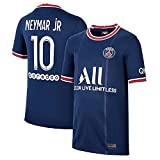 OPSCLOY Camiseta de fútbol para Hombre Camiseta de Jersey de Fans Paris Logo Camiseta de Uniforme de fútbol Fútbol Americano/Blue/XXL