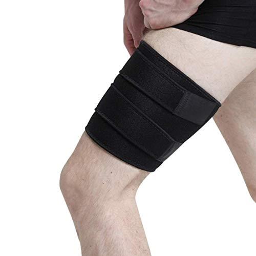 ITODA Beinbandage Atmungsaktiver Beinschützer Sport Schienbeinschützer Herren Oberschenkelbandage mit Klettverschluss Einheitsgröße Schienbeinschoner Damen Beinschutz für Laufen Fitness Volleyball