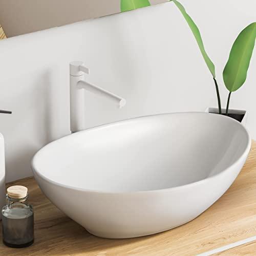 VMbathrooms Premium Hochglanz Oval Bild