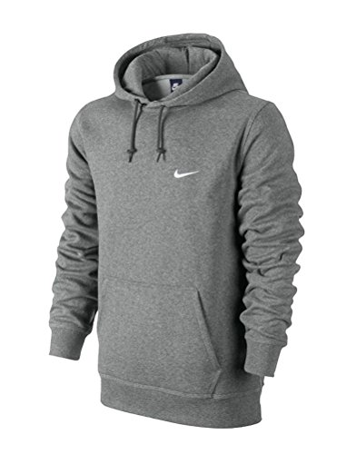 Nike M Crew Fleece Team Club 19 Sweat shirt Homme AJ1466 063 Gris (Dark Grey HeatherBlack 063) FR : M (Taille Fabricant : M)