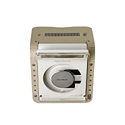 Sony ICFCD855 CD Clock Radio with FM/AM/TV/Weather SONY CD TV/WEATHER/AM/FM CLOCK RADIO