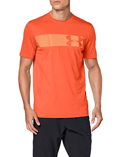 Under Armour Herren Raid Shortsleeve Graphic Kurzarmshirt, Rot, SM