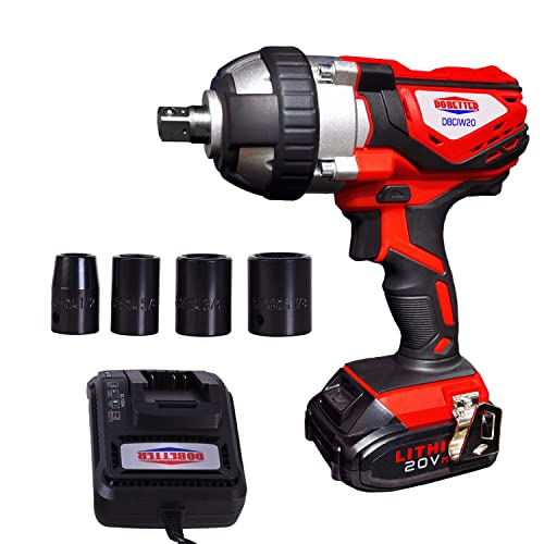 Dobetter Electric Impact Wrench 1/2 Inch Impact Wrench (Corded Impact Wrench)