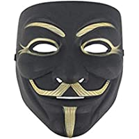 Junyulim Anonymous Vendetta Mask for Masquerade Party Halloween Cosplay