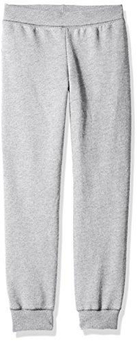 Hanes Girls' ComfortSoft EcoSmart Jogger Pants, Light Steel, Large