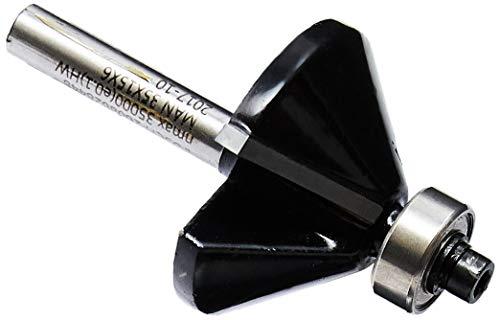 Fresa Bosch de chanfrar/aparar laminados 6 mm, D1 34,9 mm, B 11,1 mm, L 14,6 mm, G 56 mm, 45°