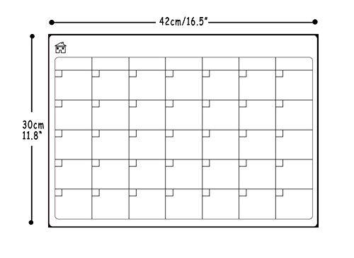 LOBZON『A3マグネットドライイレースカレンダースケジュールボード白』