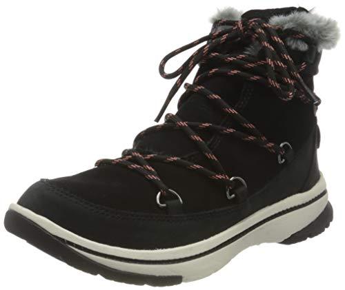 Roxy Damen DECLAND Snow Boot, Black, 39 EU
